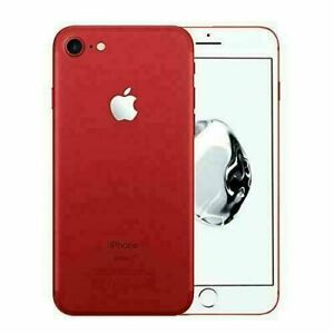 Apple iPhone 7 256GB Fully Unlocked (GSM+CDMA) AT&T T-Mobile Verizon Red