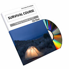 Survival Bushcraft Camping Military Hunting Knife Training Course Book Manual CD