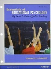 Essentials of Educational Psychology by Jeanne Ellis Ormrod (Loose-Leaf Edition)
