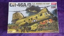 Academy 1:48 CH-46A/D US Marines Vietnam Helicopter Model Kit #12210 SEALED BAGS