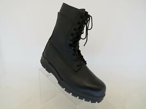 Bates Men's Black 9 in. DuraShocks Steel Toe Combat Boots Size 13 M (E01621A)