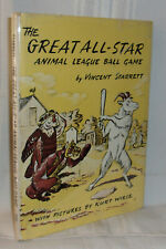 Vincent Starrett THE GREAT ALL-STAR ANIMAL LEAGUE BALL GAME First edition 1957