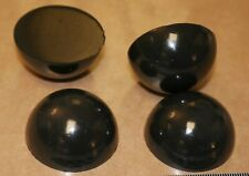 Sorbothane® NS 4 x 25mm 1in Hemisphere Isolation Pods Domes Feet SOFT 50D NO-ADH