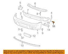 GM OEM Front Bumper-Cover Retainer Clip or Bracket 14103461