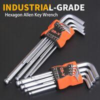 9 pcs Long Metric Torx / Ball Point Hex Allen Key Set Allan Alan Alen 1.5 - 10mm