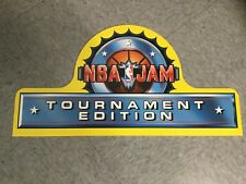Midway Nba Jam Tournament Edition video arcade game topper New
