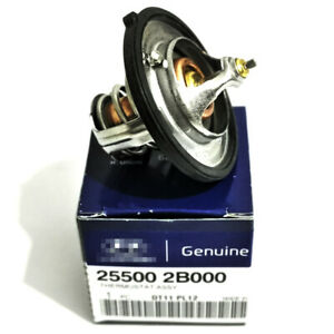 Engine Coolant Thermostat for HYUNDAI Accent Elantra KIA Soul # 25500-2B000