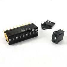 10pcs One Unit Decimal 0-9 Digital Pushwheel Switch Encoder Thumbwheel KSA-2