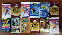 NHL Assorted 12 pack Hockey lot 1990-2008 - see details inside