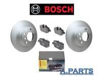 BOSCH BREMSBENSATZ HINTERACHSE BMW 1ER E81 E87 / 3ER E90 E92 BELÄGE + SCHEIBEN