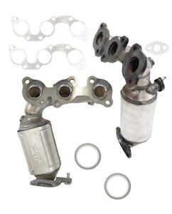 Lexus ES330 3.3L BOTH MANIFOLD Catalytic Converter 2004- 2006 8H52-13/5208