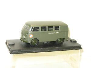 Solido Vehicle Mini Bus Combi Army Of L'Air, VW, Military Original