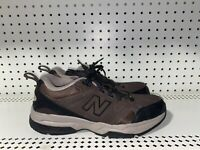 New Balance 609 Mens Leather Athletic Walking Shoes Size 8.5 D Brown Black