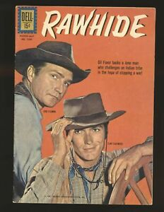Four Color # 1269 - Rawhide Clint Eastwood photo cover VG/Fine Cond.
