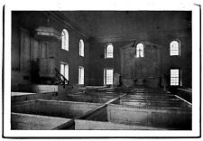 Altar Piece Pulpit and Canopy in Pohick Church Lorton, Virginia Early Postcard