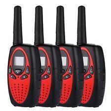4In 1 8 Channel walkie talkie UHF 400-470MHz 2-Way Radio red&black interphone SY