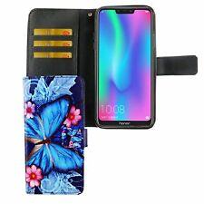 Huawei P Smart 2019 Handyhülle Schutzcase Tasche Cover Etui Blauer Schmetterling