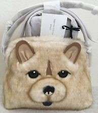 NWT KATE SPADE YEAR OF THE DOG CHOW CHOW SMALL LOTTIE BAG $378~Limited Edition!!