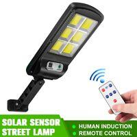 Lampe Solaire Extérieur 128 LED Lumiere Detecteur de Mouvement Sécurité Jardin