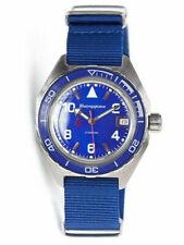 Vostok Komandirskie 650853 Watch Automatic Russian Wrist Watch Blue New