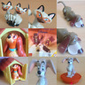 McDonalds Happy Meal Toy 1997 Lady & The Tramp Dog Character Toys - Various