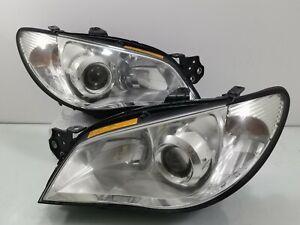 Subaru Impreza WRX Rev9 GDB GG XENON HID WRx STI CRYSTAL Headlights Head Lamps