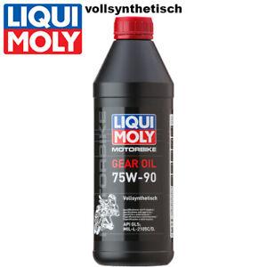 Liqui Moly Motorbike Getriebeöl 3825 75W-90 vollsynthetisch 1Liter GL5 Gear Oil
