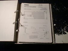 SABA Service Manual Receiver Hifi RS 940 uvm.: 1 Stück aussuchen/choose 1 piece