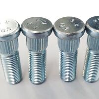 4 x Ford Wheel Stud 65mm M12 x 1.50 13mm Spline Fiesta ST RS Focus Mondeo