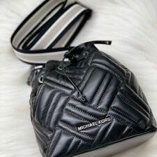 Michael Kors Peyton X Small Bucket Bag in Black.