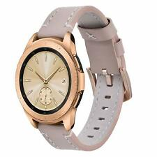 Samsung Galaxy Watch 42mm/Gear Sport/Active 40mm Band Genuine Leather Strap New