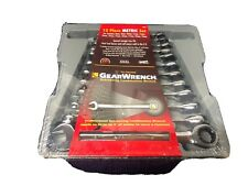 Gearwrench 9412 - 12 Piece Ratcheting Wrench Set Metric 8 - 19mm