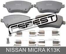 Pad Kit, Disc Brake, Front - Kit For Nissan Micra K13K (2010-)