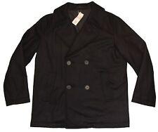 New Lacoste Wool Peacoat Men's Size 56/XL Marine Fonce/Dark Navy Free Shipping