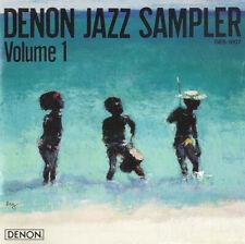 DENON Jazz Sampler Volume 1 - legendäre audiophile Referenz CD -