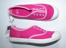 NEW GAP Pink Canvas Low-top Sneakers Size 1