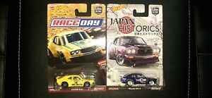 Hot Wheels Mazda RX3 Japan Historic & Car Culture Race Day Lot