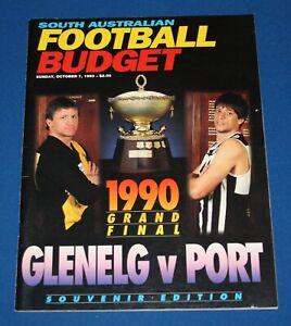 1990 Grand Final Budget Port Adelaide v Glenelg SANFL