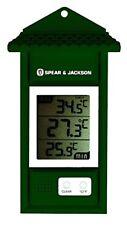 Spear & Jackson 53106 Thermomètre Mini Maxi Digital Vert