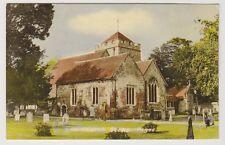 Buckinghamshire postcard - Church, Stoke Poges (Brightly Coloured)