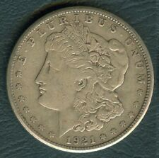 1921 US Liberty MORGAN Dollar United States of America  SILVER  26.7g  Coin #A4