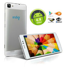"""NEW! Indigi® Unlocked Duo Core 5.5"""" Android 4.4 Duo Sim 3G Smart Phone T-Mobile"""