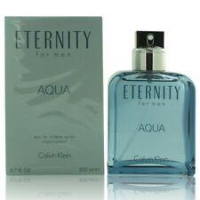 Eternity Aqua 6.7 Oz Eau De Toilette Spray By Calvin Klein New In Box For Men
