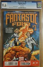 Fantastic Four #1 (2013) Mark Bagley Cover CGC 9.6 White Pages Thing Human Torch