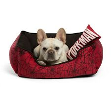 New! Spiderman Dog Cat Pet Bed with Pillow Chew Toy Nest Cozy