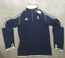 Adidas Team GB half zip fleece unisex small medium XS avail