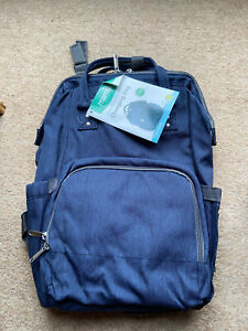 Mamia Baby Changing Bag Backpack Was £17.99 Blue