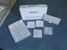 BOX SCATOLA, manuale, box portamanuale, licenza APPLE MACBOOK WHITE  2010 13''