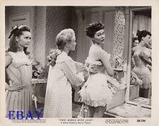 Phyllis Kirk in corset VINTAGE Photo Debbie Reynolds Jane Powell