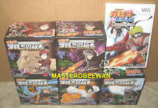 Naruto Shippuden: Dragon Blade Chronicles + 5 EXCLUSIVE Figures New Wii & Wii U